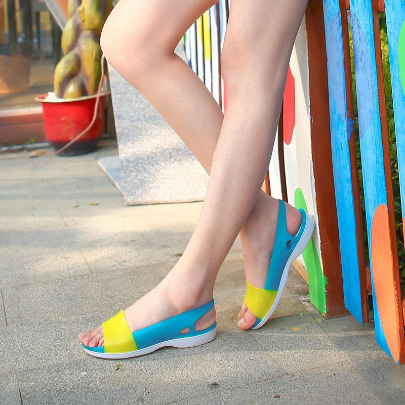 colorful sandals 1