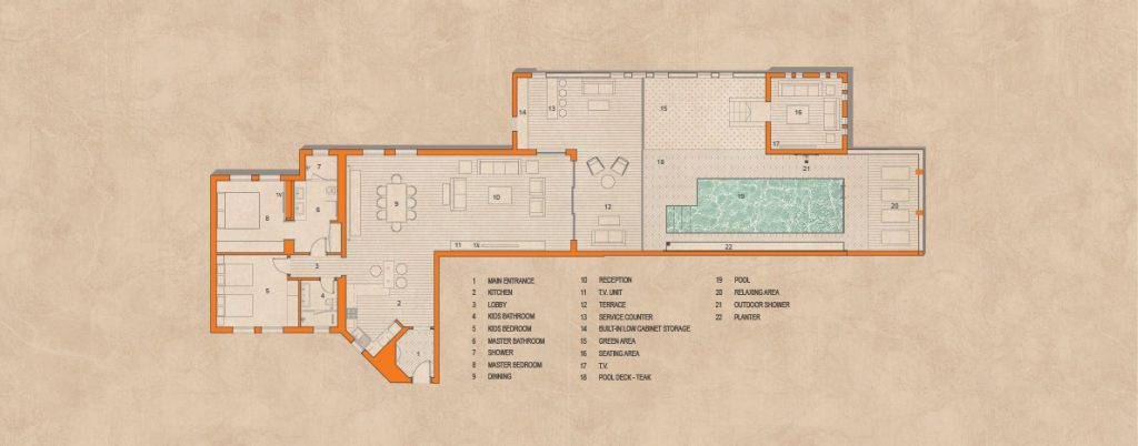 Ab house plan Gouna