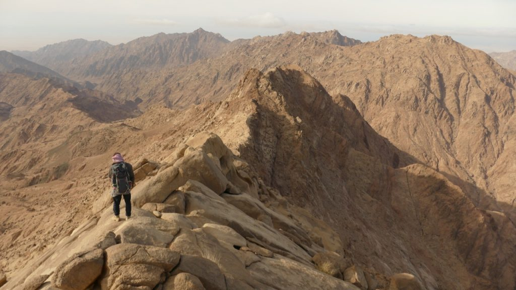 Hiking The Sinai And Red Sea Mountain Trail In Egypt