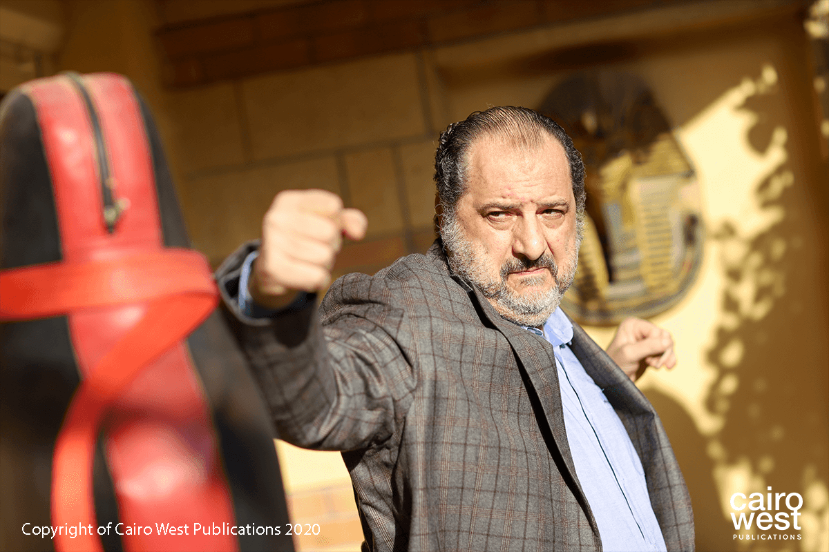 Khaled El Sawy and his new character in the money