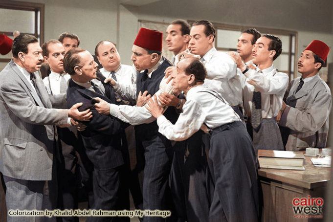 Classic Egyptian films in color