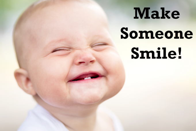 how to make someone smile